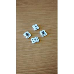 Xenith Plastic Snap Buckle x 4