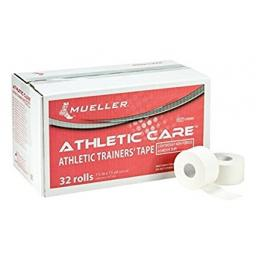Mueller Athletic Care Trainers Tape - Box of 32