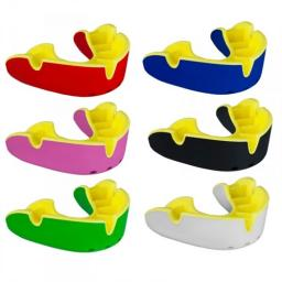 OPRO Silver Mouthguard with strap