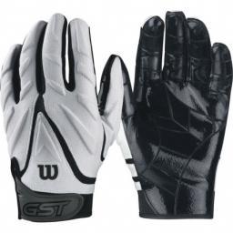 Wilson GST Big Skill Padded Gloves White