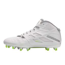 Warrior Burn8.0 mid-high football cleats D width