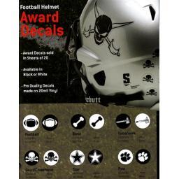 Helmet Award Stickers