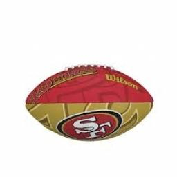 Wilson NFL JR Team Logo Football
