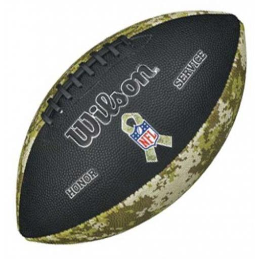 Wilson NFL Salute to service Football Junior size