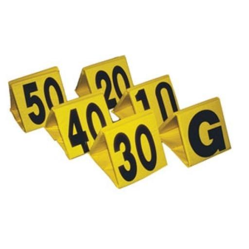 Standard Football Sideline Markers