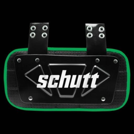 Schutt Varsity Neon Back plate