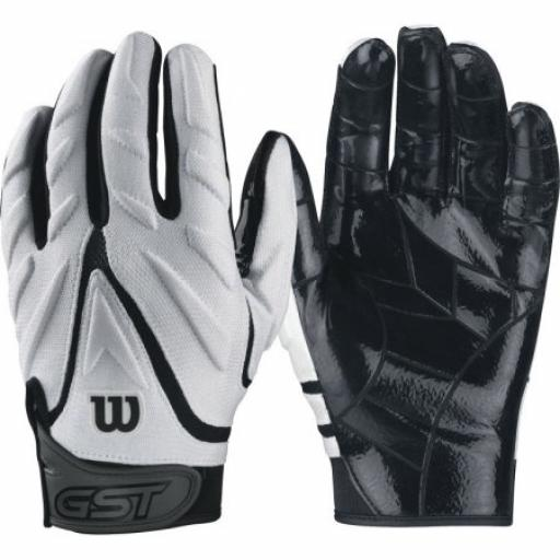 Wilson GST Big Skill Padded Gloves White