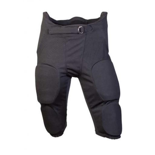 Practice Pants with Built in 7 piece pads Black