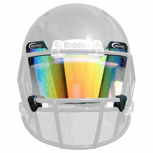 Full Force Visor Tinted Orange/multicolor