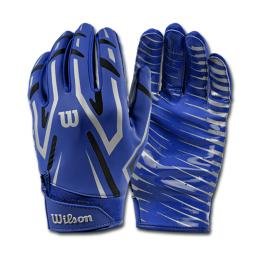 Wilson Clutch WR/DB/RB Glove Royal Blue