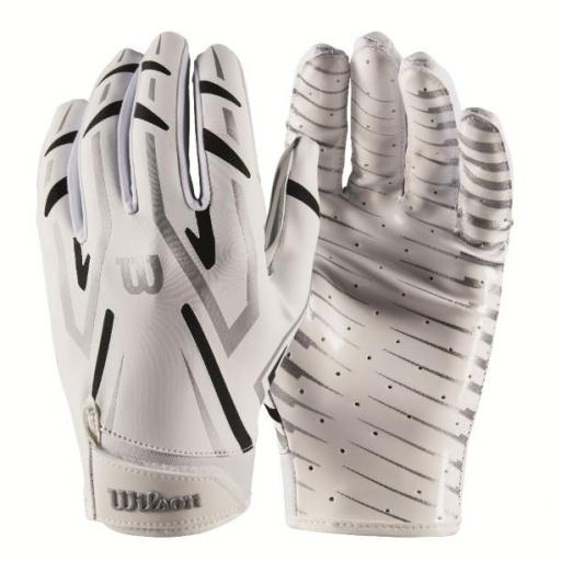 Wilson Clutch WR/DB/RB Glove White