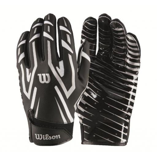 Wilson Clutch WR/DB/RB Glove Black