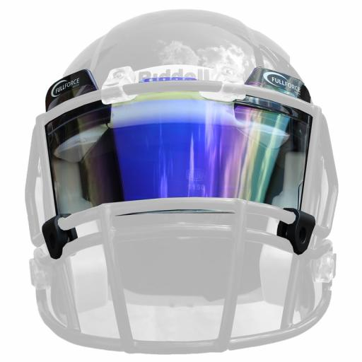 Full Force Visor Tinted Blue/multicolor