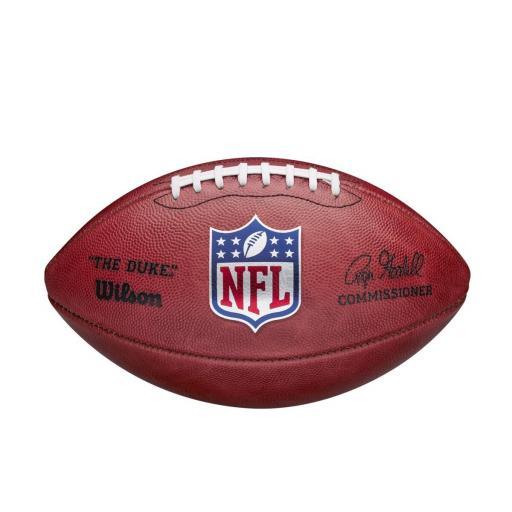 Wilson NFL Duke leather football
